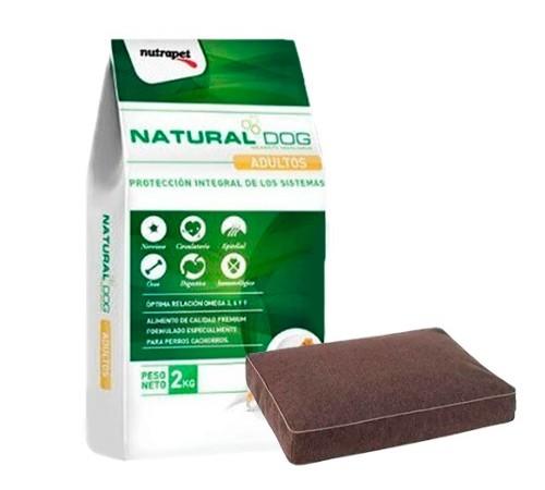 Natural Dog Adulto 22k + Colchoneta de regalo