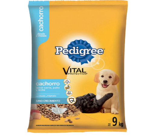 Pedigree Cachorro 9k + Snacks De Regalo