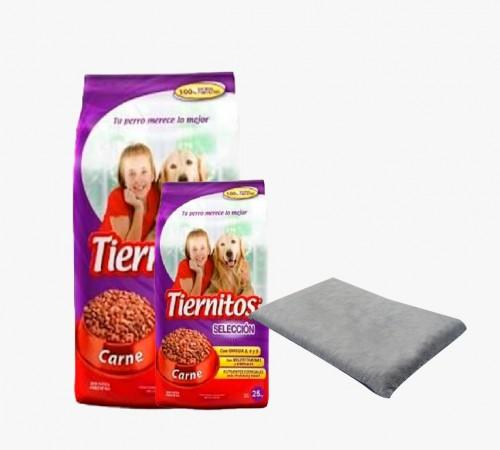 Tiernitos Carne 21+3k + Colchón de Regalo