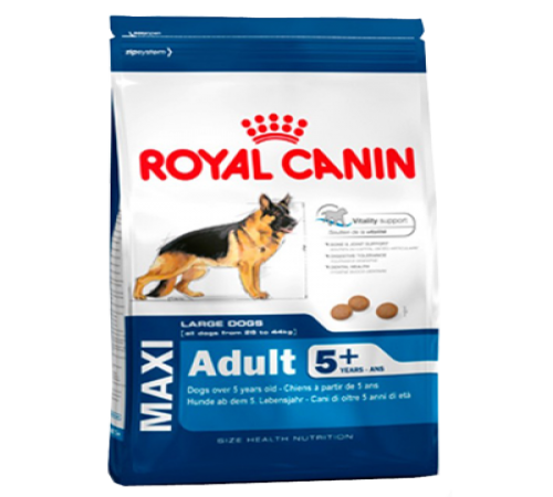 Royal Canin Maxi Adulto  15k + 5 Senior