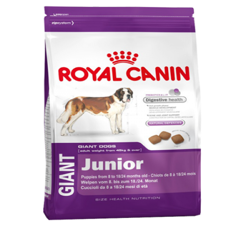 Royal Canin Giant Junior 15k + Snacks De Regalo