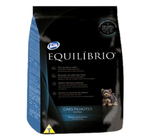 Equilibrio Cachorro Raza Pequeña 7.5k + Snacks De Regalo