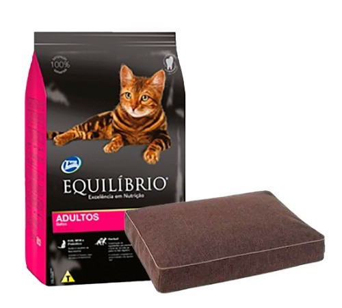 Equilibrio Gato Adulto 1,5k + Colchoneta de Regalo