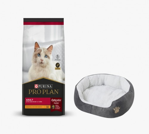 Purina Proplan Gato Adulto 7.5k + Cama de Regalo