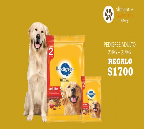Pedigree Adulto Carne 21k  Snacks De Regalo