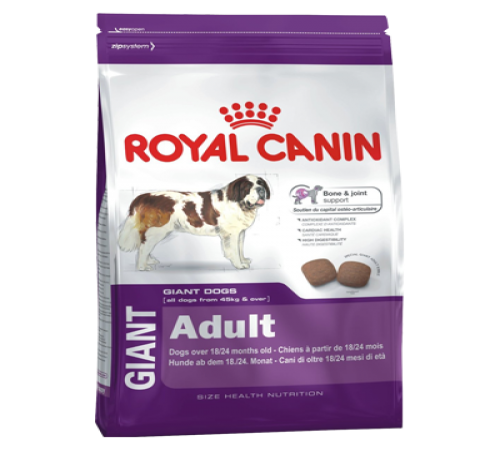 Royal Canin Giant Adulto 15k + Snacks De Regalo