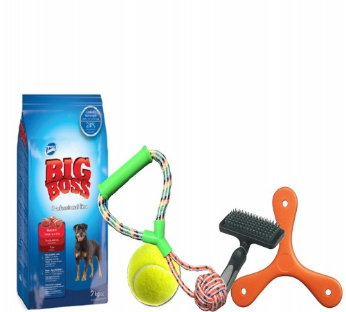 Big Boss Adulto 22k  + Pelota o cuerda de regalo a eleccion