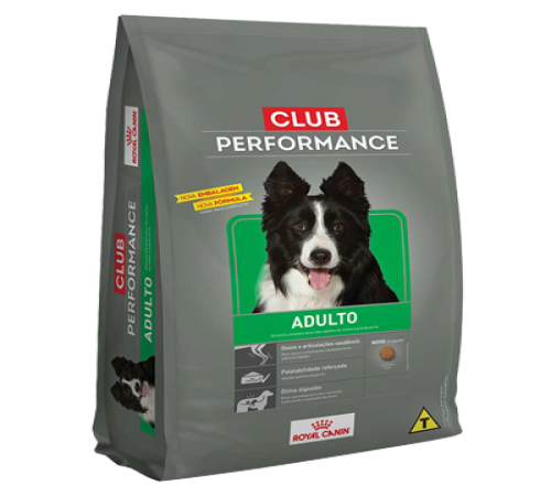Royal Canin Club Performance Adulto 15k