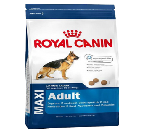 Royal Canin Maxi Adulto 15k + Snacks De Regalo