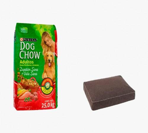 Dog  Chow Adulto 21+3k + Colchoneta de Regalo