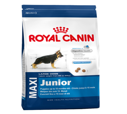 Royal Canin Maxi Junior 15k + Snacks De Regalo