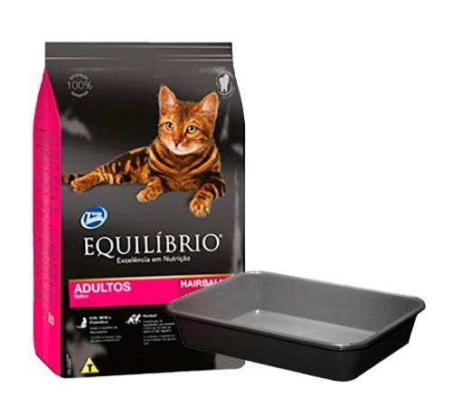 Equilibrio Gato Adulto 1,5k+ Bandeja Sanitaria de Regalo