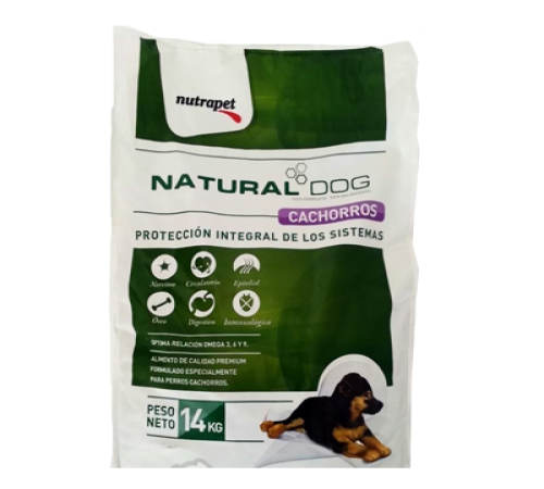 Natural Dog Cachorro 14k + Snacks De Regalo