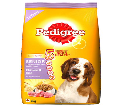 Pedigree Senior 9k + Snacks De Regalo