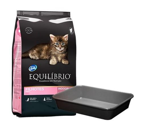 Equilibrio Gato Cachorro 1,5k + Bandeja sanitaria de regalo