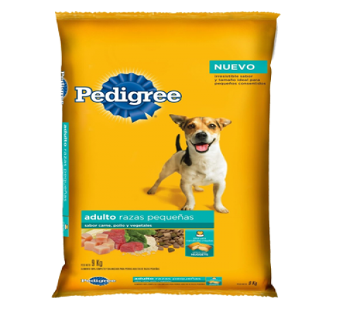 Pedigree Adulto Raza Pequeña 21k + Snacks De Regalo